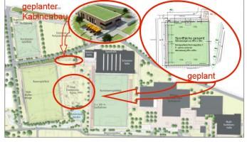 geplante Erweiterung des Sportpark Goldäcker